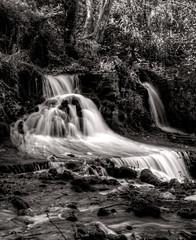 Waterfall (Vasilis Mantas) Tags: bw white black nature canon waterfall d 110 greece macedonia nd 500 hdr 2012 serres 1740l hamam     vmantas  vmantasphotography agkistro