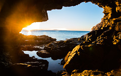 Anenome Cave Sunrise (Wells_Photography) Tags: acadia maine sunrise cave ocean anemonecave sea
