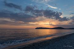 colori al tramonto (lurick.01) Tags: cloud colors lurick mare palinuro panorama sea sky spiaggia sun sunset tramonto
