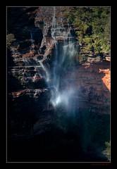Wentworth Falls (Seeing Things My Way...) Tags: waterfall cascade water flow wentworthfalls bluemountains nsw australia