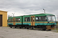 20160717 0550 (szogun000) Tags: zamo poland polska railroad railway rail pkp depot shed maintenancefacility zamobortatycze dmu diesel motorcar railbus szynobus spa66 sn81 sn81005 lhs pkplhs train pocig  treno tren trem passenger subowy lubelskie zamojszczyzna canon canoneos550d canonefs18135mmf3556is