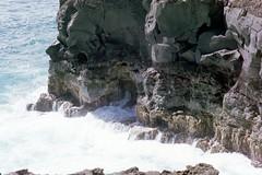 Power Cont. (kawehna) Tags: pentax k1000 35mm fujifilm colorfilm filmisnotdead ishootfilm asahi hawaii maui hike travel adventure wanderlust blowhole nature outdoors vacation island pacificocean waves sea gratitude