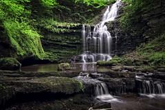 'The falls'...... (Taken-By-Me) Tags: takenbyme water waterfall waters green rock stream river nikon d750