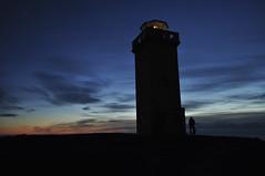 Iceland - Snæfellsnes (Adeline Kristjánsdóttir) Tags: ciel contraste coucherdesoleil couleur lumire nuit paysage personne phare snaefellness lumière