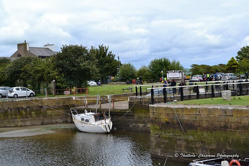 Glasson Dock near Lancaster, Lancashire UK