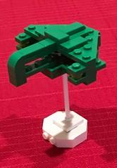 Lego Romulan Warbird (Official Regal) Tags: trek star micro space romulan microspacetopia microspace microscale startrek lego