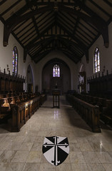 St Albert's Priory Chapel (Lawrence OP) Tags: oakland california stalberts priory dominican heraldry chapel constable