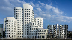 [Explore 2016-08-27] Media Harbour Dsseldorf - Architect: Frank Gehry (stefanfricke) Tags: mediaharbour medienhafen gehry dsseldorf sony ilce6000 a6000 zollhof