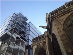Paris (Christian Lagat) Tags: france paris paris1erarrondissement 75001 glise church saintgermainlauxerrois constructionsitebungalows bungalowsdechantier gargouille gargoyle