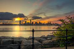 Sunrise, Liverpool (Dave Wood Liverpool Images) Tags: sunrise liverpool rivermersey lowlight uk england
