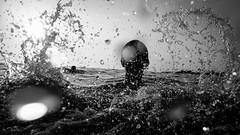 * (Timos L) Tags: water underwater sea play game splash sun contrelumiere sunset seaside summer 2016 fuji fujifilm xp20 timosl waterproof greece hellas