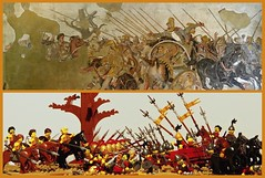 The battle of Issus (legophthalmos) Tags: lego alexanderthegreat alexander great battle issus greece persia darius history macedoniagreece macedonian makedonia timeless