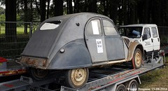 Citron 2CV A 1952 (XBXG) Tags: 292de24 24 dordogne citron 2cv a 1952 citron2cv 2cv6 2pk eend geit deuche deudeuche icccr 2016 landgoed middachten de steeg desteeg rheden gelderland nederland holland netherlands paysbas vintage old classic french car auto automobile voiture ancienne franaise france frankrijk