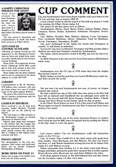 Leicester City vs Southampton - 1982 - Page 7 (The Sky Strikers) Tags: leicester city southampton fa cup road to wembley filbert street official matchday magazine 35p