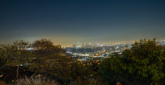 Los Angeles (Anthony's Olympus Adventures) Tags: losangeles la california ca america city downtown cityview cityscape night nightscene griffithpark wow view dark afterdark longexposure usa unitedstatesofamerica olympusem10 omd microfourthirds