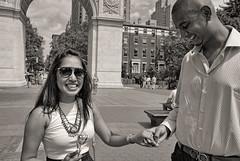 Washington Square Park Proposal (Tozzophoto) Tags: newyorkcity proposal washingtonsquarepark newyork summer 2016 manhattan love family wedding