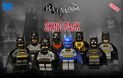Lego Arkham City Skin Pack (Strike U) Tags: lego batman arkham city skin pack skins animated series dcau year earth one the dark knight returns beyond incorperated inc sinestro corps 1970s