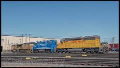 _JM18697 (saltley1212) Tags: union pacific sd402 gp382 ac44cw ac4460cw gatx 1810 2287 5580 7318 bailey yard nebraska