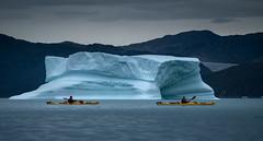 Cruising through dreamland (Frank Busch) Tags: frankbuschphotography imagebyfrankbusch photobyfrankbusch glacier greenland ice kayaking ocean southgreenland wwwfrankbuschname john tracy iceberg