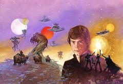 Star Wars: Dark Empire II (1995), cover art by Dave Dorman (Tom Simpson) Tags: davedorman illustration comics painting art vintage starwarsdarkempireii 1995 cover 1990s starwars lukeskywalker stardestroyer