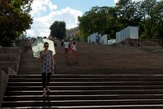 Potemkin stairs, Odesa (Eleonora Sacco | Pain de Route) Tags: ukraine ukraina ucraina 2016 summer