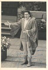BOTIAUX, Gustave, Faust, Opra Comique, Paris (Operabilia) Tags: autograph claudepascalperna opera tenor gustavebotiaux faust gounod jacquelinesilvy soprano opracomique paris