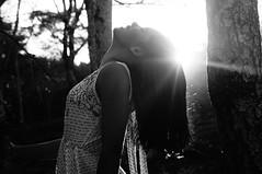Erika (Adriele Vieira) Tags: girl sun sunset bw tumbrl freedom