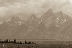 Wyohome (Marisa Sanders Photography) Tags: tetons grandtetons thegrandtetons nps np gtnp grandtetonnationalpark canon canon7d explore outdoors outside gtfoutside gtfoutdoors landscape photography sepia