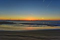 Sunrise over Liverpool, UK. (pdean1) Tags: sunrise liverpool rivermersey