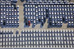 Red Car - 101 (Aerial Photography) Tags: by keh ndb 08092016 5sr20377 audi auto bachl fotoklausleidorfwwwleidorfde gewerbegebietbachl luftaufnahme luftbild pkw reihen rohrinb rot aerial automobile car outdoor red redcar rotesauto rows rohrinblkrkelheim bayernbavaria deutschlandgermany deu