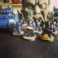 Squad Vulgate (Ad Hoc Games) Tags: 40k warhammer games workshop rainbow warriors space marines