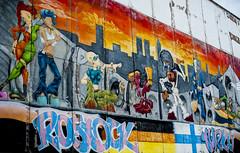 Rostock-Turku (madmtbmax) Tags: rostock turku germany finland street art painting vivid colours graffiti flag fahne wall beton city scene artistic farbig farben satt contrast nikon d700 50 mm