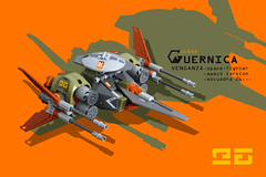 VENGANZA space-fighter (leo026) Tags: lego space fighter spaceship