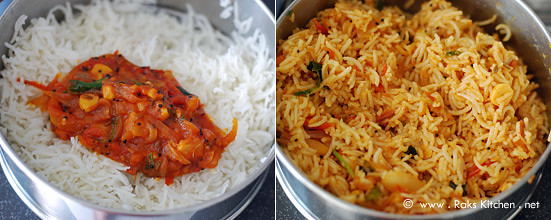 Tomato rice recipe step 4