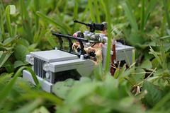 Jeep (SpontaneousRaptor) Tags: lego jeep vietnam ww2 cod callofduty brickarms brickforge brickarmsmods