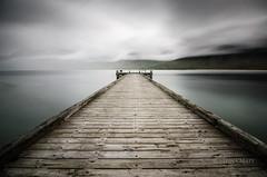 Holtsbryggja (SteinaMatt) Tags: sea sky matt pier nikon long exposure tokina holt 1224 vestfirðir westfjords steinunn önundarfjörður steina holtsbryggja d7000 matthíasdóttir
