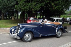 SALMSON S4E (xavnco2) Tags: blue france cars french automobile eu convertible normandie autos chateau normandy classiccars s4 bleue cabriolet salmson seinemaritime s4e diepperetro