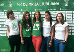 Hostese Agencija 22 za NK Olimpija Ljubljana. 01.09.2012. (agencija22) Tags: 22 agency ljubljana slovenija xxii promocija delo agencija hostesno