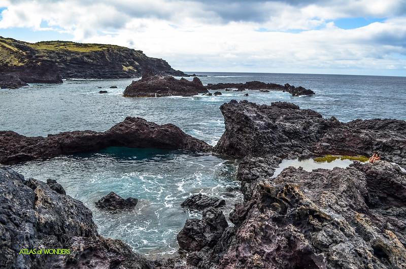 Easter Island secret pool