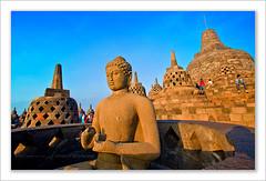 indonesia borobudur (Albert Photo) Tags: sculpture heritage history monument indonesia temple lights java asia stupa buddhist tourist carving carve yogyakarta borobudur engrave traveler historicalsites mahayana historicallegacy