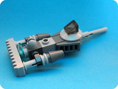 """Pod Racer- """"The Cheat"""" (βrick ςurge) Tags: star pod lego space micro wars build cheat racer the"""