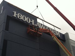 Channel Letters - Installation - 1-800-Law-Firm