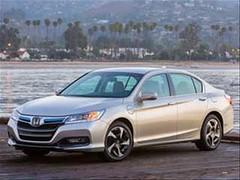 2014 Honda Accord PHEV Sedan detailed