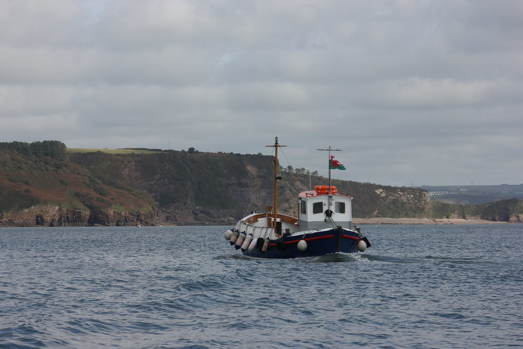 Caldey Island Boat