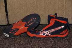 cael's trying to get rid of...make offer (#tryingtogetdatscholarship(616-808-7927)) Tags: shoes wrestling cheap