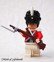 Imperial Redcoat Musketeer (Mark of Falworth) Tags: soldier lego imperial minifig custom moc aoe