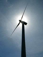 Wind Energy in Sunlight (Batikart ... handicapped ... sorry for no comments) Tags: travel blue sky sun sunshine silhouette angel backlight canon outdoors spain holidays energy europa europe day pov performance perspective conservation environmental progress tranquility sunny powershot alternativeenergy journey electricity innovation ursula majestic development esp contrasts futuristic windturbine paisvasco spanien freshness 2012 2010 windenergy sander efficiency g11 renewableenergy viewup uptothesky environmentalissues againstsun batikart albiz magunagoya