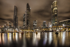 Melbourne Southbank skyline 2012-09-14 (_MG_3856_7_8) (ajhaysom) Tags: