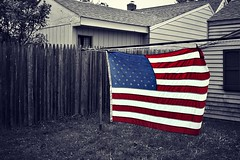 American Pride! ~ Day 15/365 (SeptemberRayne) Tags: color america project flag american 365 selective