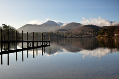 DSC_0018 Derwentwater morning (wilkie,j ( says NO to badger cull :() Tags: winter lake mountains nature reflections landscape nikon day lakedistrict clear cumbria derwentwater nationalparks nationaltrust keswick clearday